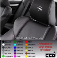 Opel Logo Car seat Decals